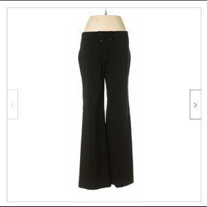Elevenses Anthropologie Black Stretch dress pants